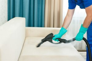 Upholstery clean up services