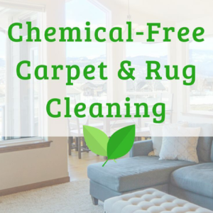 Chemical Free Carpet and Rug Cleaning